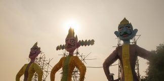 dussehra festival celebration in india
