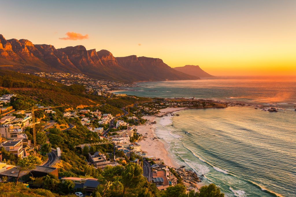 Clifton beach without people in the late afternoon - South Africa safari, Budget Destinations