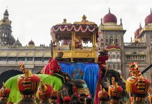 Mysore during Dasara festival