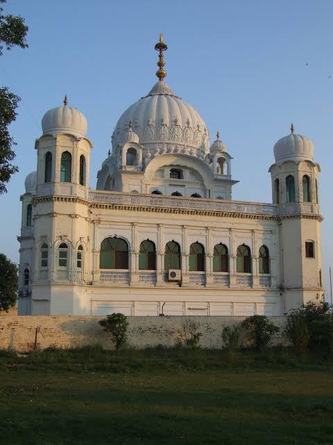 The Gurdwara Darbar Sahib in Kartarpur
