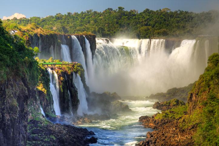 Waterfalls in Uruguay