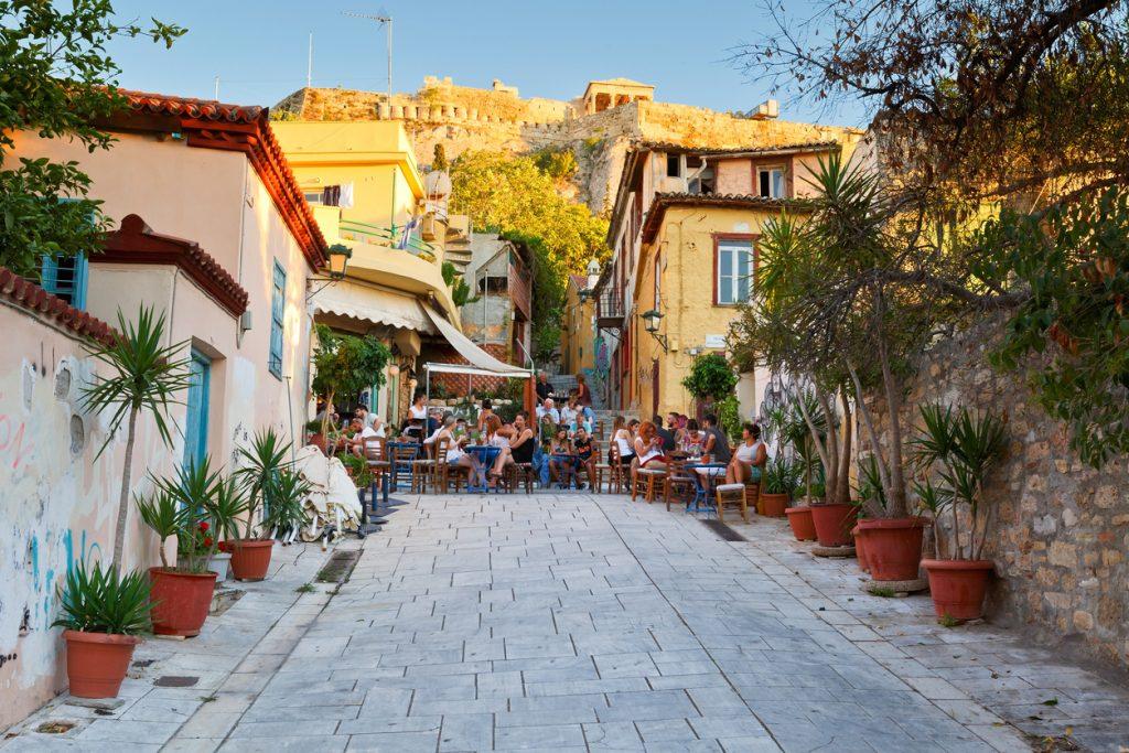 Plaka, Athens.