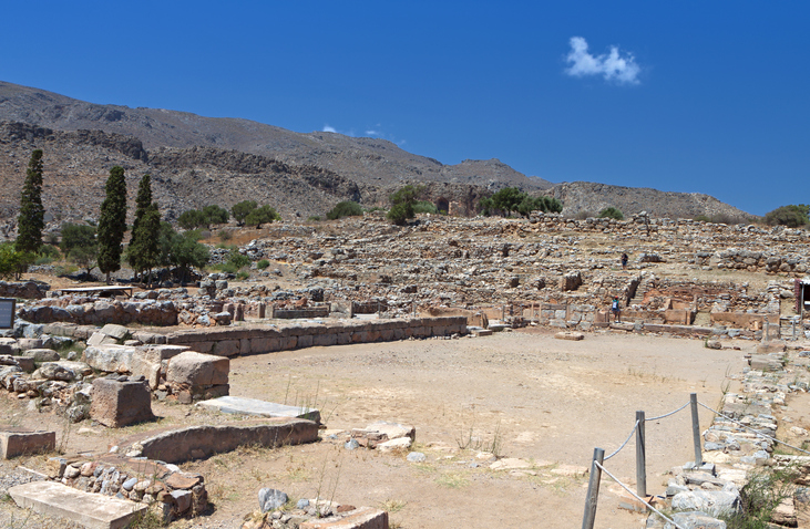 Ancient Zakros at Crete island, Greece, places to see in Crete