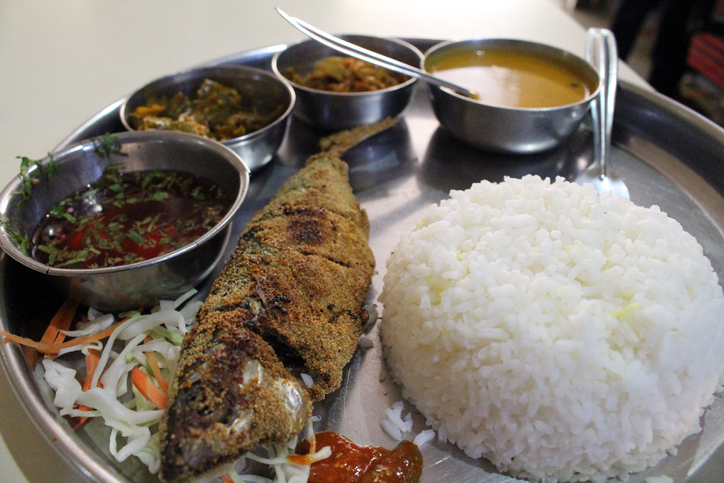 Fish Thali at Ritz Classic, Panjim, Goa