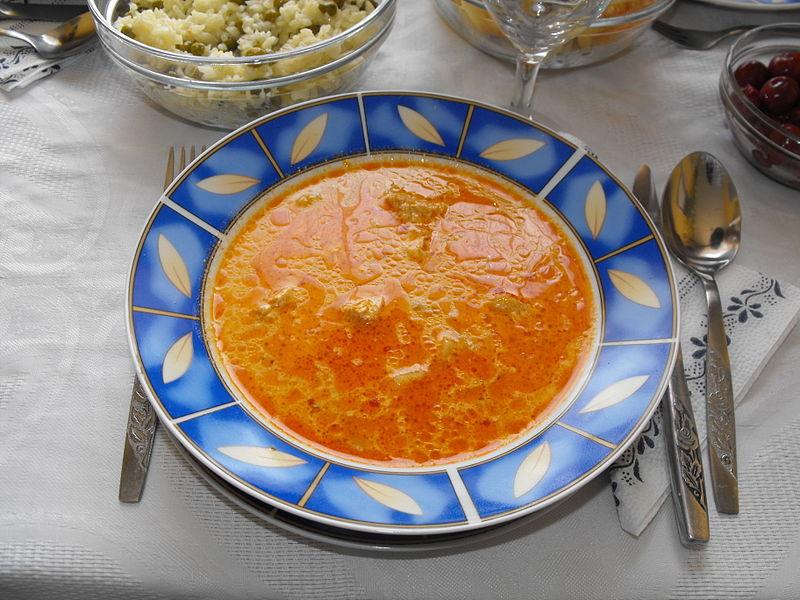 Palócleves Hungarian soup