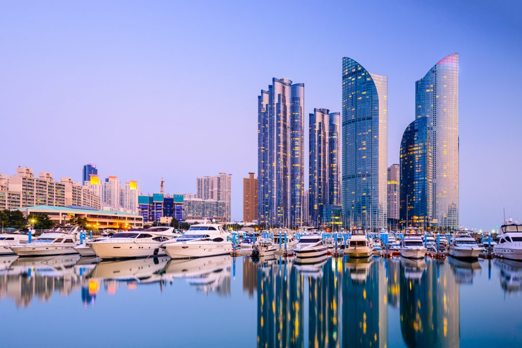Busan Cityscape, cities of South Korea
