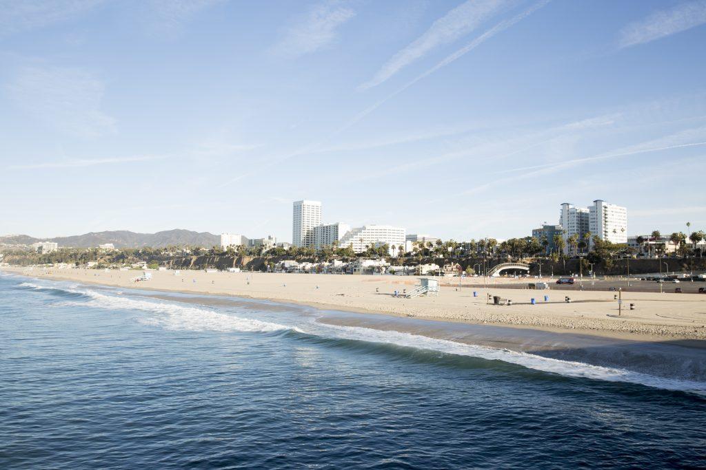 neighbourhoods in Santa Monica Beach
