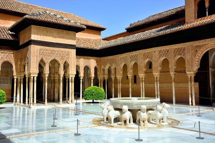 Court of the Lions, Granada