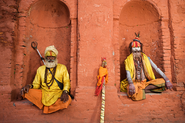 Hindu sages - Hinduism is the oldest religion in the world