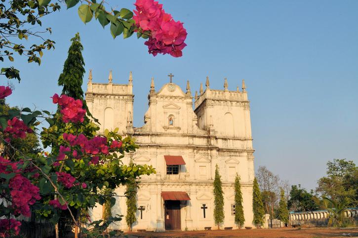 Church of Saint Mathias, Divar island, Old Goa, India