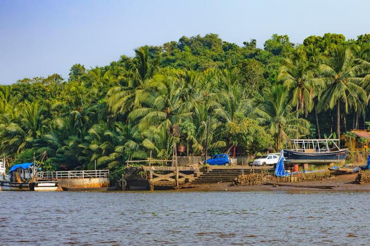 Chorao, Goa, islands in India