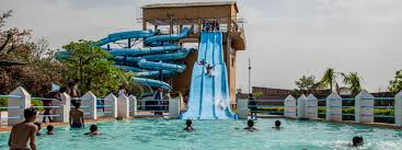 Dolphin water park in Agra