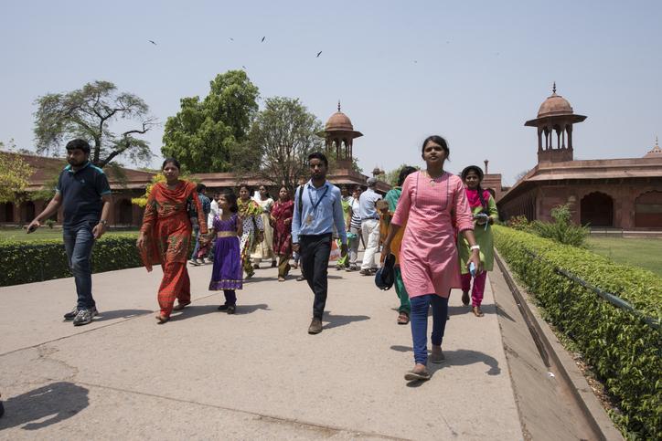 Taj nature Walk,
