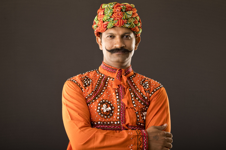 Traditional attire for men in Rajasthan, Rajasthani culture