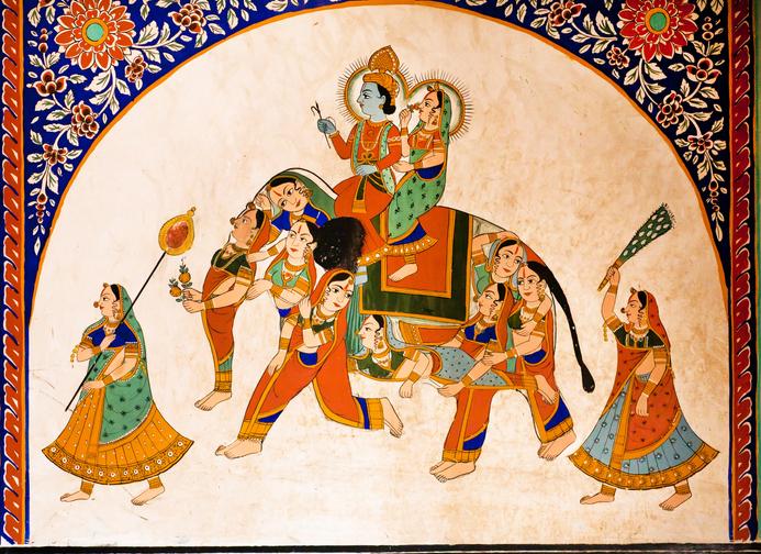 traditional Rajasthani painting, Rajasthani culture