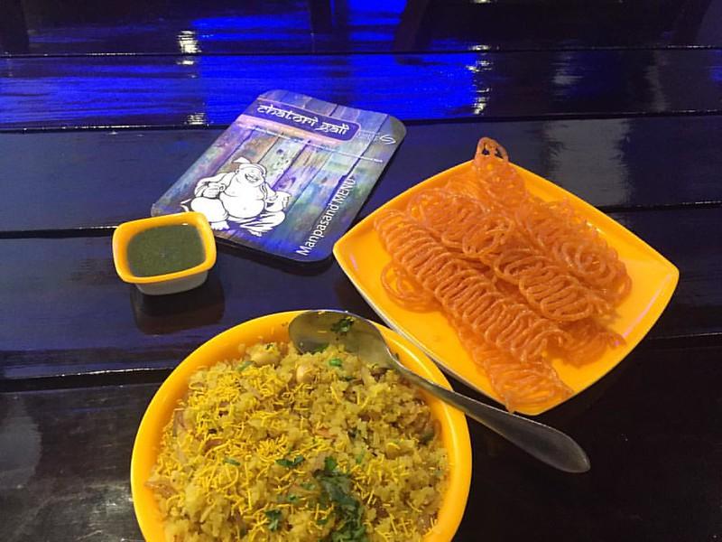 Poha Jalebi, popular Indian breakfast from Madhya Pradesh