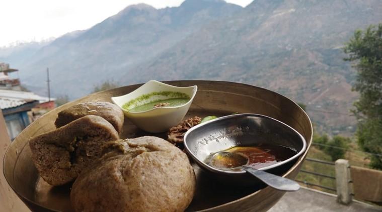 Siddus, breakfast from Himachal Pradesh