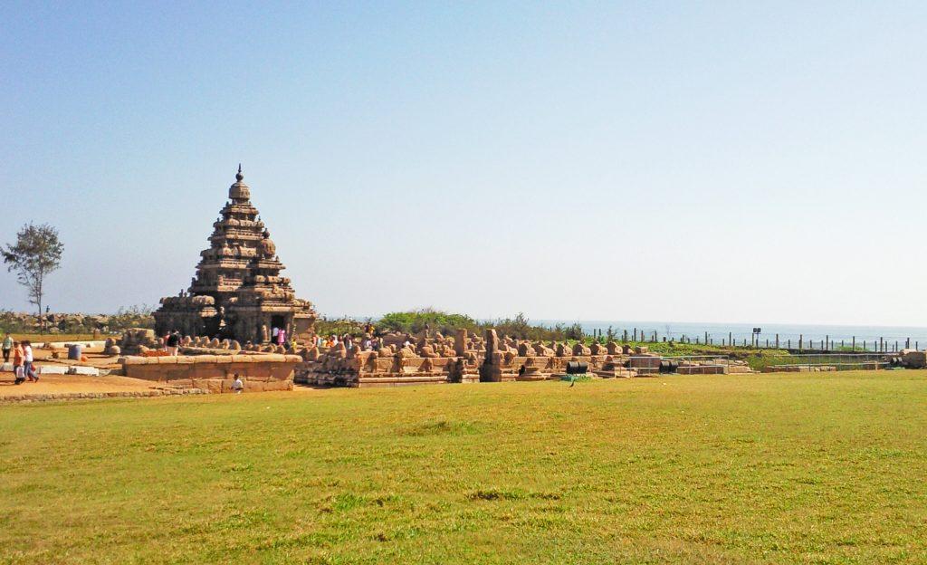 Temple in Mahabalipuram,