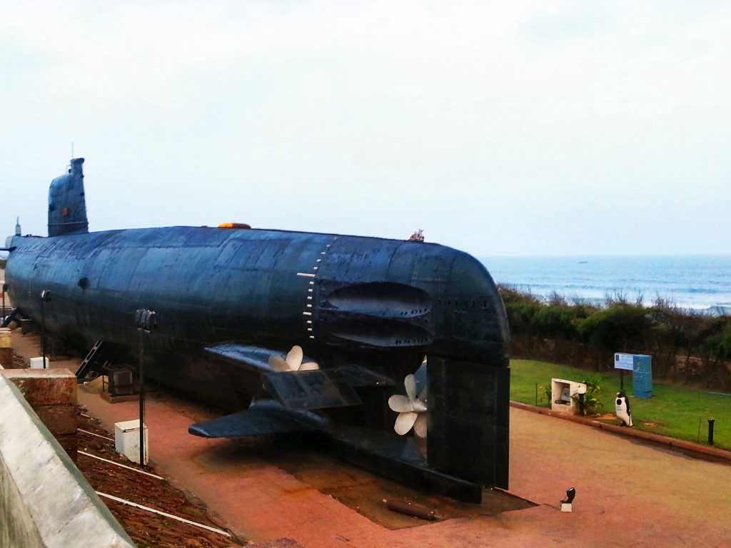 INS Kursura submarine museum, places to visit in Vizag