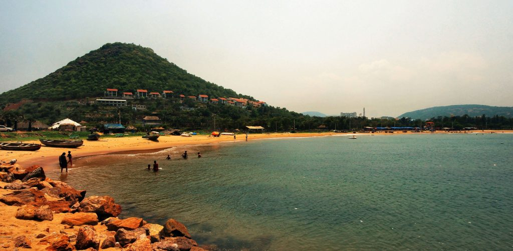 Rushikonda beach, places to visit in Vizag