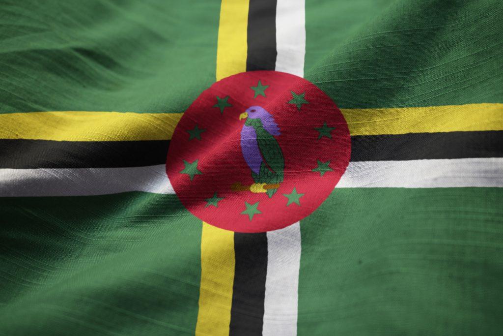 Caribbean nation flag