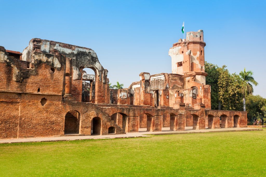 The British Residency complex is a group of several building in a common precinct in the city of Lucknow, India.