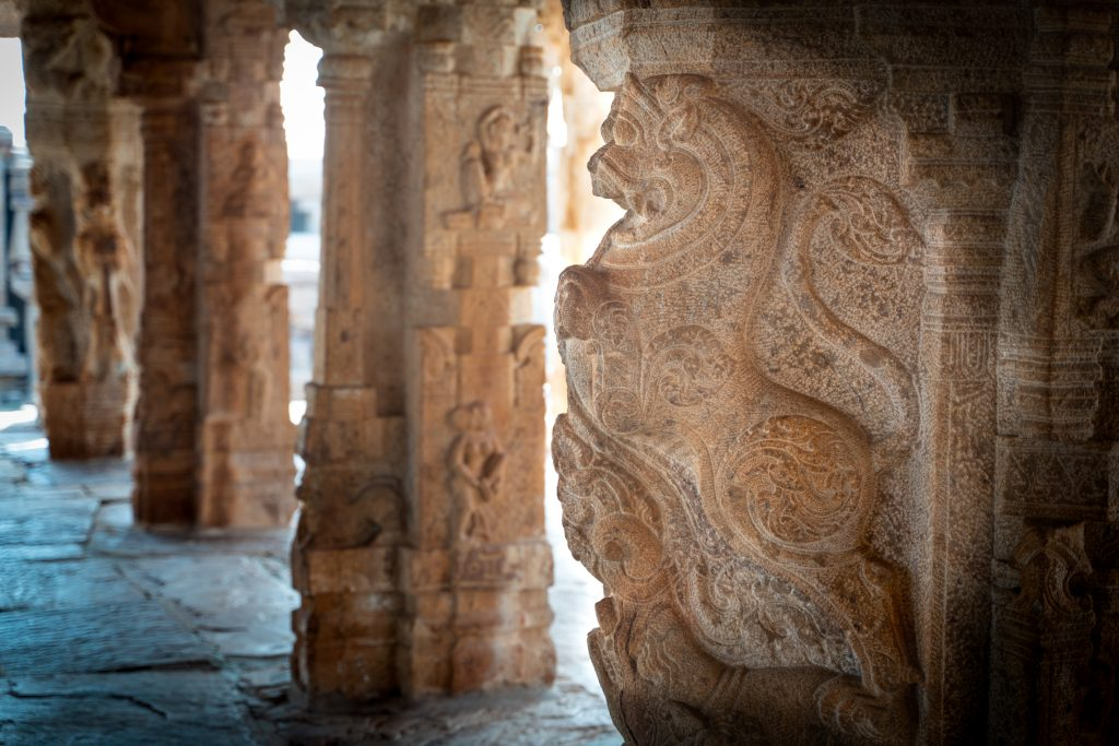 Temple pillars in India, Gandikota