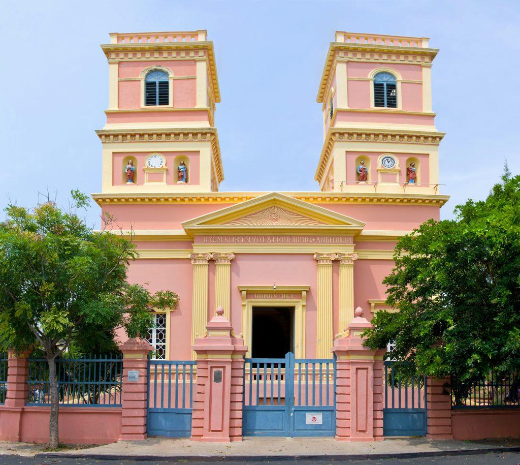 Notre Dame des Anges, places to visit in Pondicherry