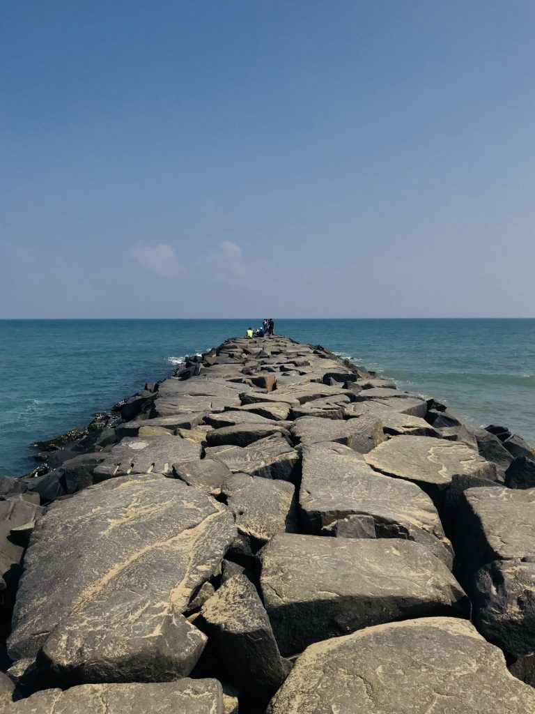 Rock beach, Pondicherry places to see