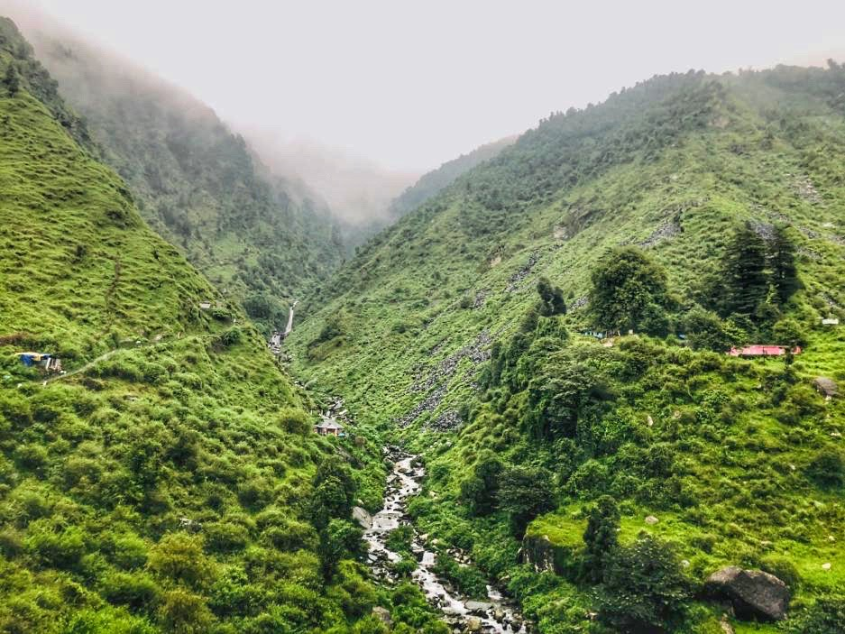 Bhagsu waterfalls, Mcleodganj, Himachal Pradesh