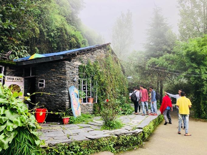 Shiva cafe in Mcleodganj, Dharamshala