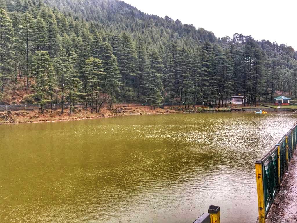 Dal Lake in Mcleodganj, Dharamshala, Himachal Pradesh