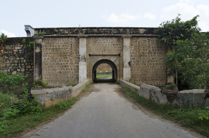 One of the entrance gate of Srirangapatna Fort