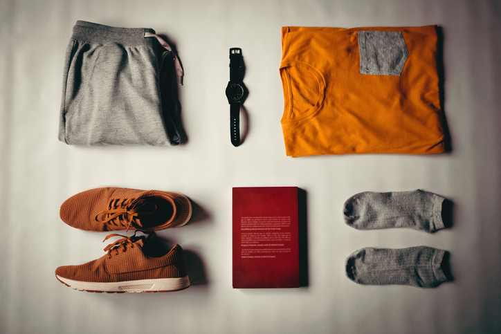 Capsule wardrobe, minimalist travel packing