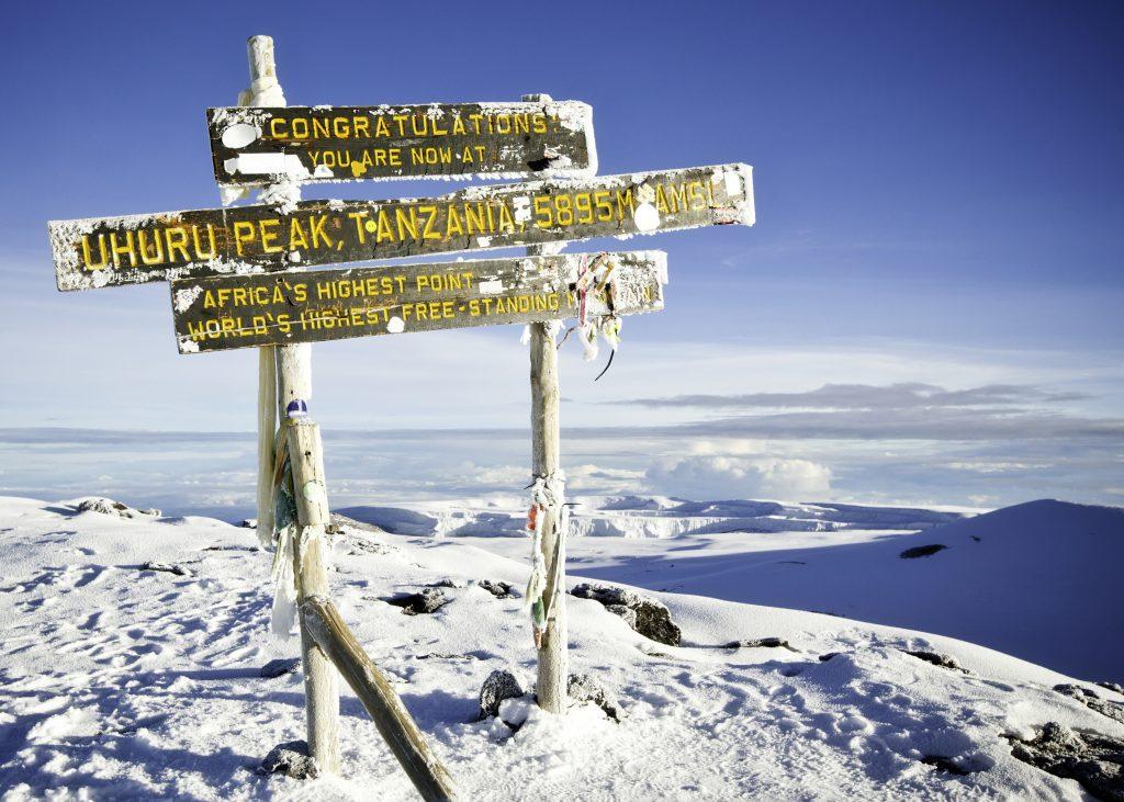 Summit, Kilimanjaro