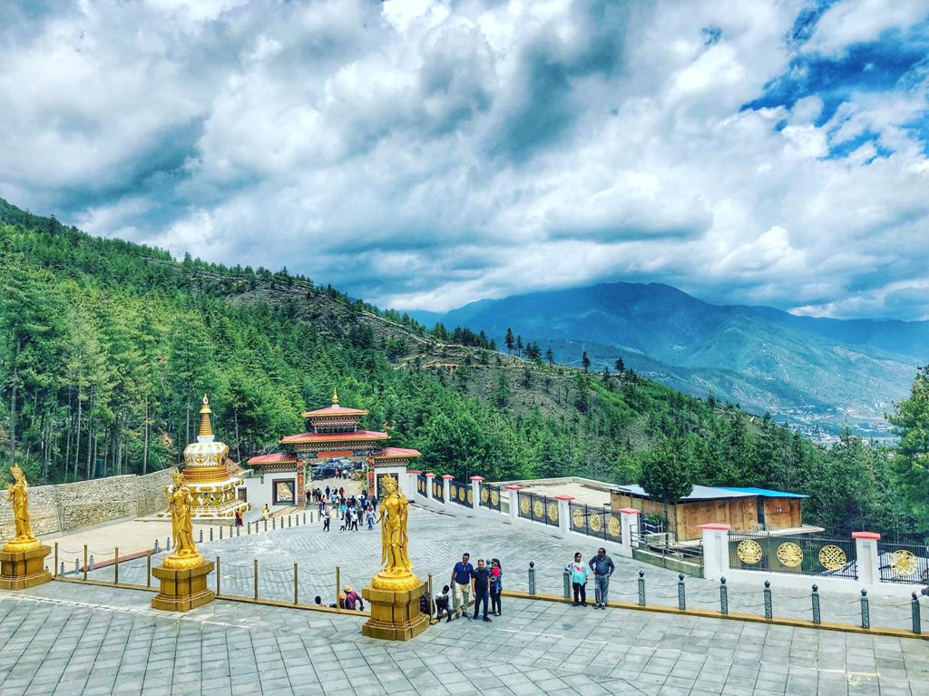 Buddha Point in Thimphu