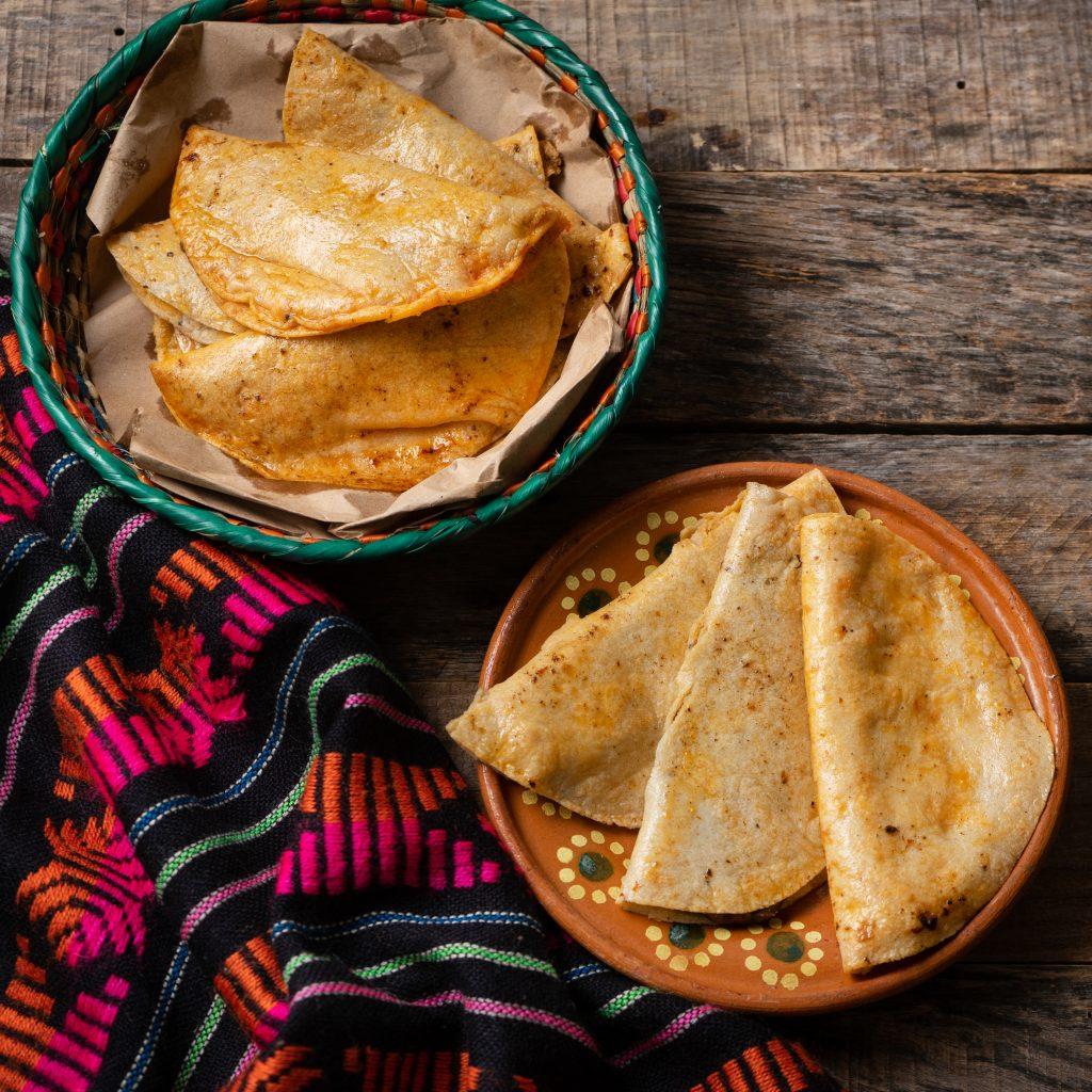 """Mexican basket tacos also called """"de canasta"""""""