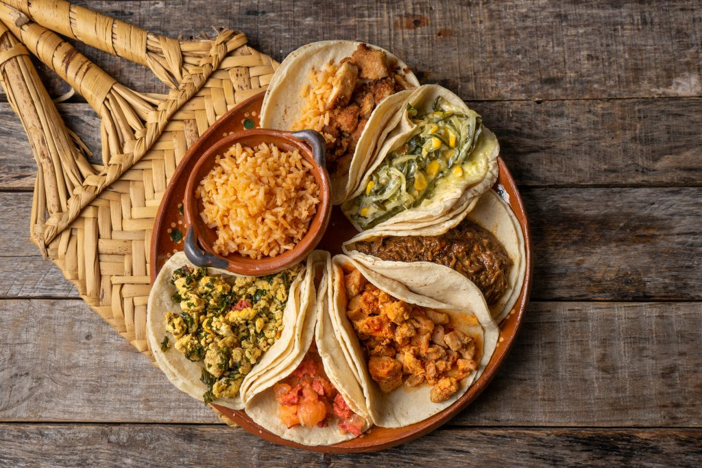 """Traditional mexican stew tacos also called """"guisados"""""""