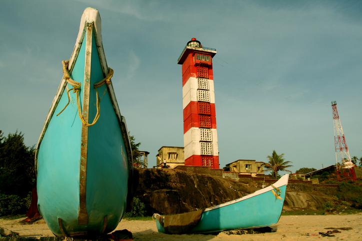 The lighthouse at Surathkal beach is one of the best things to witness among the beaches in Mangalore