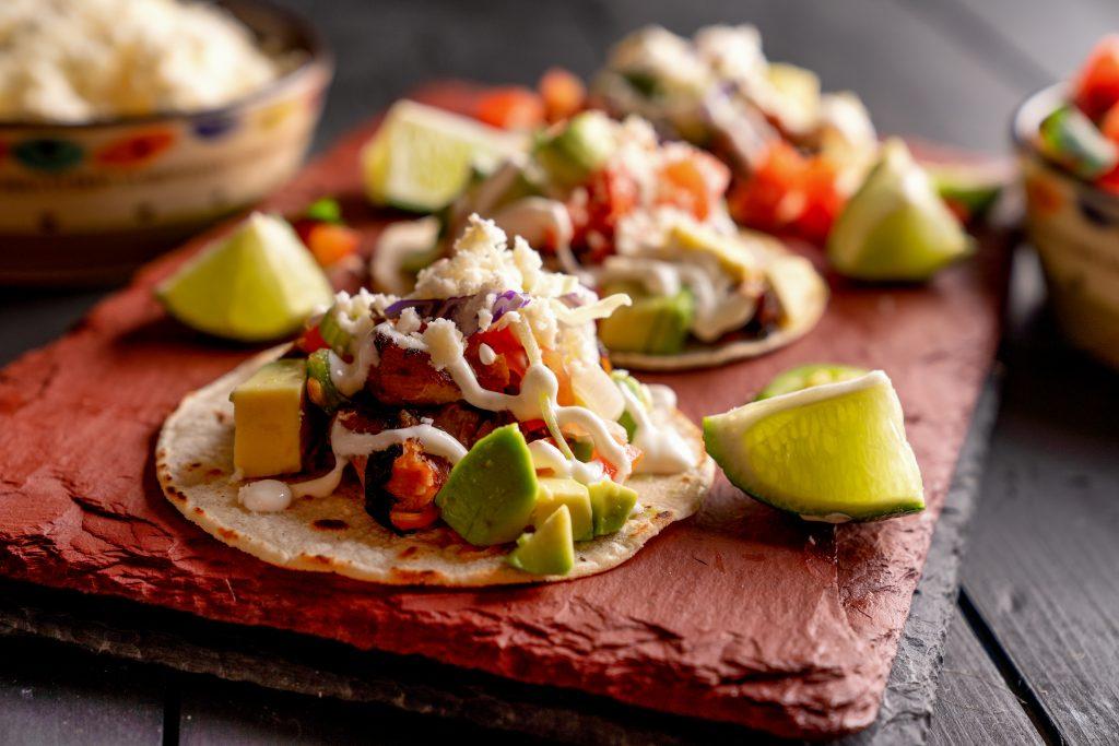 Pork Carnitas Tacos, tacos in Mexico
