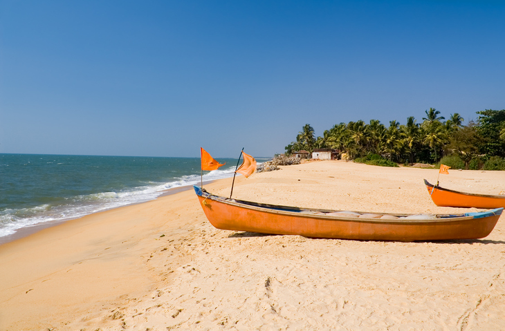 Boats at the beach of Ullal village, places to visit in Mangalore