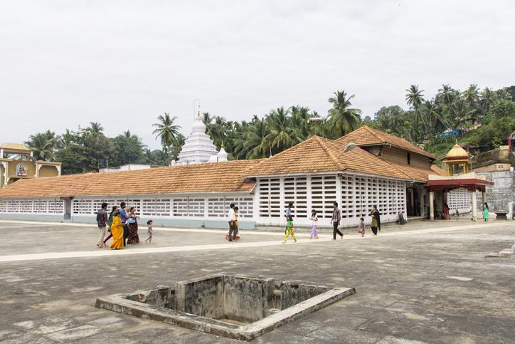People outside the Kadri Manjunath temple, Mangalore, Karnataka, India, places to visit in Mangalore