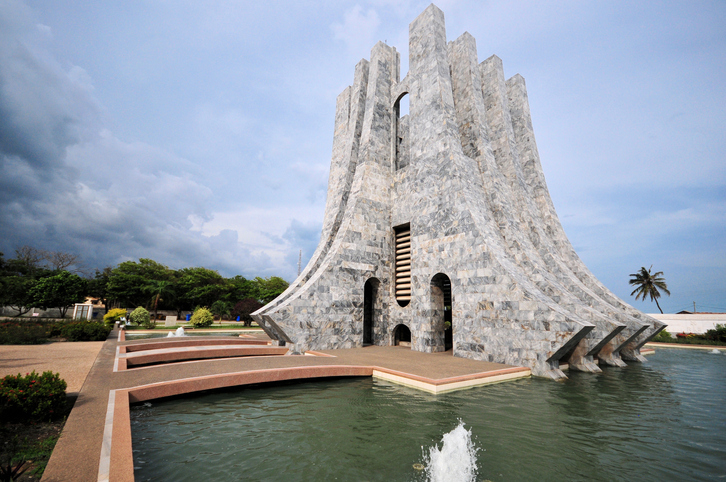 Accra in Ghana is among the world's sustainable cities