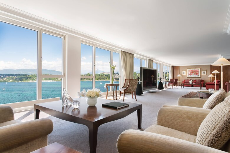 Hotel President Wilson, Geneva, Switzerland, one of the most expensive hotels in the world