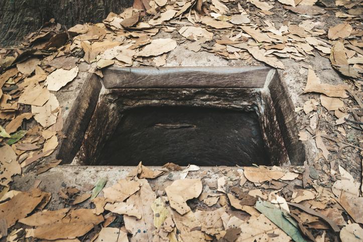 Cu chi tunnels history in Vietnam