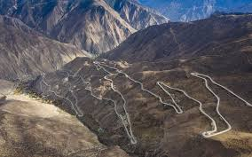 The Highway Of Sichuan, one of the world's most dangerous roads