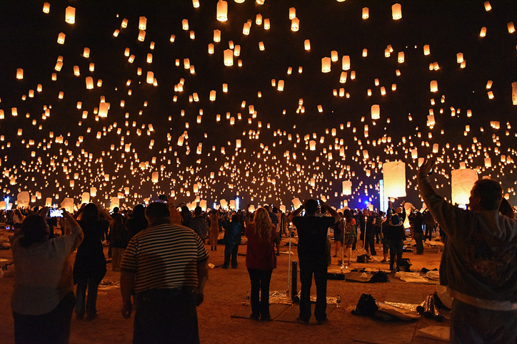 Rise is among the popular lantern festivals in the world