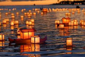 Floating Lantern festivals in Hawaii
