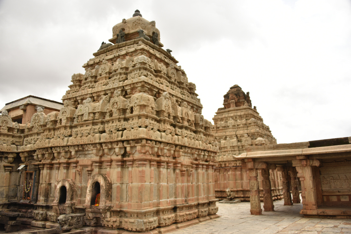 Bhoga Nandeeshwara Temple, Nandi Hills, Karnataka, India