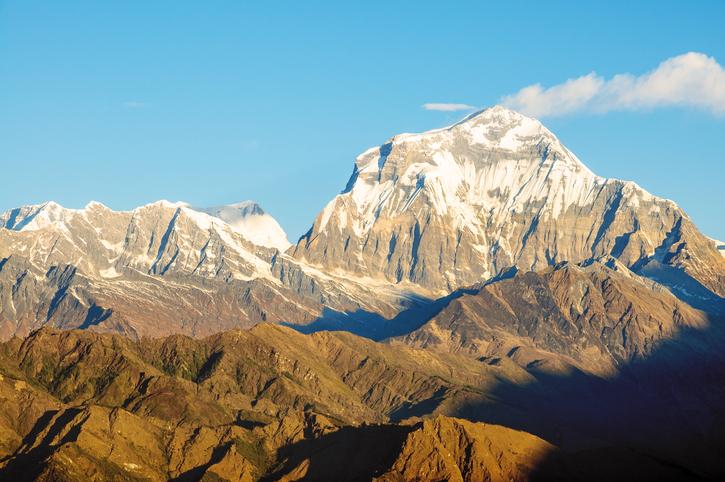highest peaks in the world, Dhaulagiri